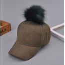 Großhandel Kopfbedeckung: Samtmütze mit Bommel Military CZ13Z