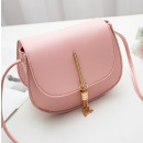 Großhandel Handtaschen: Rosa Öko Leder Handtasche pink T184R-M