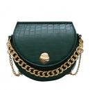Großhandel Handtaschen: Grüne Lederhandtasche T184ZIE