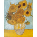 Van Gogh Vase with Sunflowers 1,000 parts Puzzle
