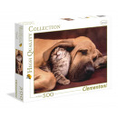 500 pieces Puzzle High Quality Collection - Cuddle