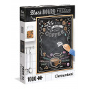 1000 pieces jigsaw puzzle with chalkboard Coffee
