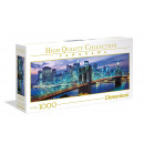 1000 Pieces Puzzle NP Panorama New York Brooklyn B