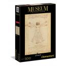 Vitruvian Man 500 pieces Puzzle Museum