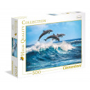 500 pieces Puzzle High Quality Collection Dolphins