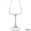 x6 selenga wine glass 36cl, transparent