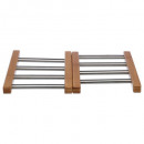 under flat bamboo stainless steel exten