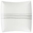 wholesale Houshold & Kitchen: plate pres carree lines 29cm, white