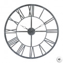 Vintage gray metal pendulum d70, gray