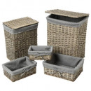 cofre x2 + basketx3 gris aby, gris