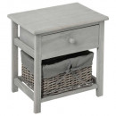 bedside gray aby 1tir, gray