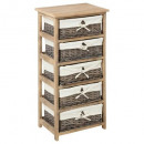 muebles 5 cesta natural aby h86, beige