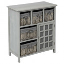 wholesale Gifts & Stationery: 5panier furniture + 1 door gray aby, gray