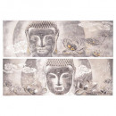 Buddhist painting 60x180x3.8, 2- times assorted ,