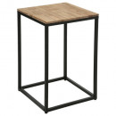 edena side table, brown
