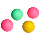 pelota playa x4 diametro 4 cm