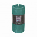 candela rotonda rustica emer 6.8xh14, verde medio