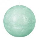 candela rustica sfera ment10 d10, verde chiaro