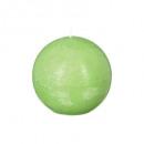 Vela bola rústica verde d12, verde