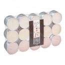 vanille theelichtje geurkaars x30, ivoor