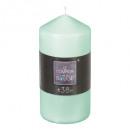 candela tonda menta 6.8x14, verde chiaro