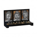ingrosso Home & Living: photoph buddha 3 lumi vr, 2- volte assortito assor