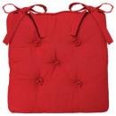 slab stoel 5 rode, rode kont