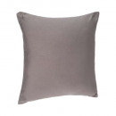 Pillow with gray cover 38x38, gray