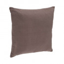 Kussen taup-hoes 38x38, taupe