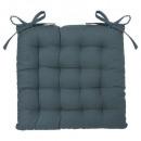 galette chaise orage 38x38, bleu