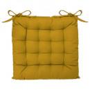 krzesło galette ocher 38x38, żółte