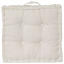 Pillow ivory floor 40x40x8, ivory