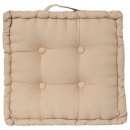 Poduszka pościelowa 40x40x8, beżowa