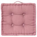 Kussen roze vloer 40x40x8, roze