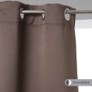 rideau occultant taupe 140x260, taupe