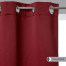 wholesale Curtains & Drapery: red blackout curtain 140x260, red