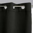 wholesale Curtains & Drapery: black blackout curtain 140x260, black