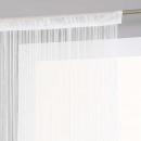 függöny fehér huzal 90x200, fehér