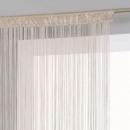 vászon függöny 120x240, bézs