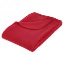 rode geruite plaid 125x150, rood