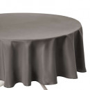 wholesale Table Linen: anti-stain tablecloth taupe d180, taupe