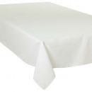 Tischdecke Elfenbein 150x300, elfenbein