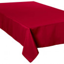 anti-stain tablecloth red 150x300, red