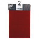 tapis uni 40x60 rouge, rouge
