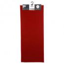 sima szőnyeg 50x120 piros, piros