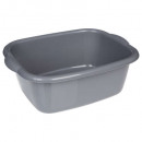 grossiste Articles ménagers: bassine rectangle,  2-fois assorti, multicolore