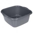 square bowl 34x34cm, 3- times assorted , multicolo