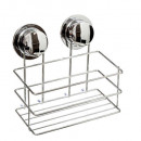 wholesale Bath Furniture & Accessories: metal shelf with suction cup