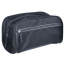 wholesale Travel Accessories: classic gray toiletry bag, dark gray