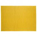 schmutziger Badteppichschaum 65x90cm gelb, grau
